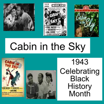 Cabin in the Sky $FREE PowerPoint ♫  ♫  - An American Musical