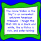 Cabin in the Sky Movie Worksheet - Celebrate Black History Month w/ This Musical
