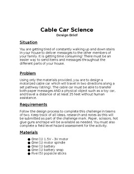 Cable Car Science Design