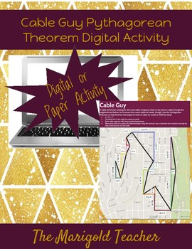 Cable Guy Pythagorean Theorem Digital Activity
