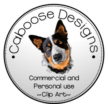 Caboose Designs Realistic Clip Art Logo