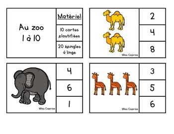 Cache-cache: Au zoo! - Maternelle