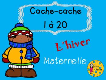 Cache-cache - L'hiver - Maternelle