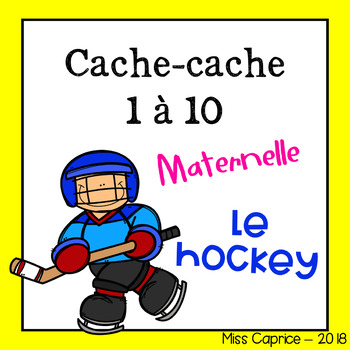 Cache-cache - Le hockey - Maternelle