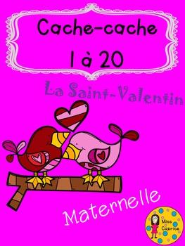 Cache-cache - Saint-Valentin - Maternelle