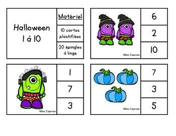 Cache-cache de l'Halloween - Maternelle