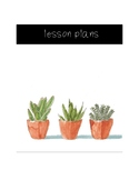 Cacti Lesson Plan Cover