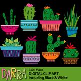 Cacti clip art / cactus clipart