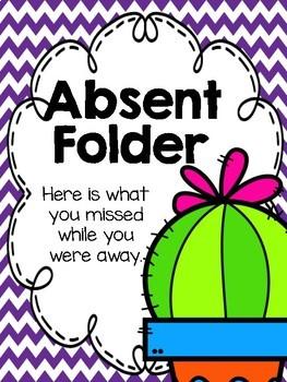 Cactus Absent Folders