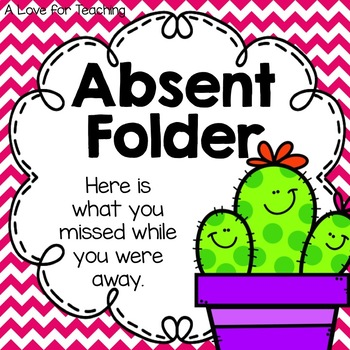 Cactus Absent Folders