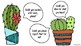 Cactus Accountable Talk Posters