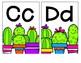 Cactus Alphabet