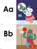 Cactus Alphabet Cards (Combined Upper & Lower)