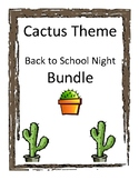 Cactus Back to School Bundle