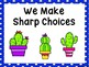 Cactus Behavior Clip Chart