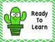 Cactus Behavior Clip Chart -Chevron