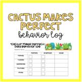 Cactus Behavior Log