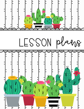 Cactus Binder Covers
