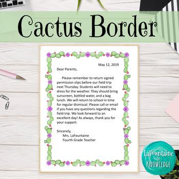Cactus Border