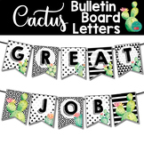 Cactus Bulletin Board Letters Printable