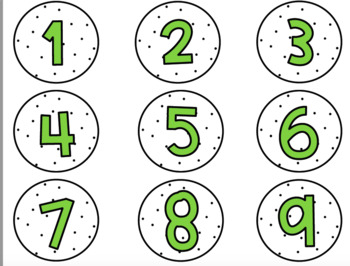 Cactus Calendar Headers and Numbers-Classroom Decor
