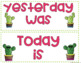 Cactus Calendar Set