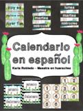 Cactus Calendar in Spanish!