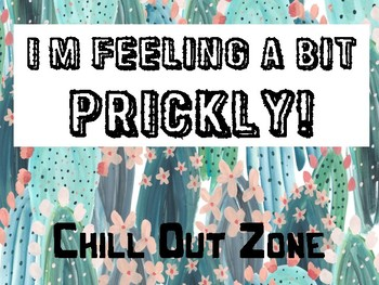 Cactus Chill Out Zone
