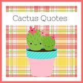 Cactus Classroom Decor | Cactus Theme | Succulent | POSTER SET