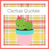 Cactus Classroom Decor | Posters
