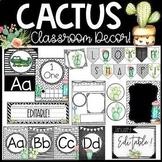 Cactus Classroom Theme Decor Bundle