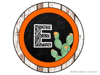 Cactus Classroom Decor Door Sign