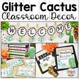 Cactus Classroom Decor Bundle