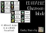 Cactus Classroom Decor LABELS - Cactus and succulent theme