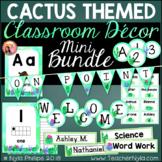 Cactus Classroom Decor Mini Bundle