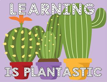 Cactus Classroom Decor