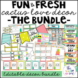 Cactus Classroom Decor: The Bundle