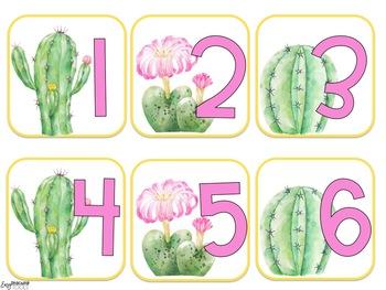 Cactus Classroom Decor {editable}