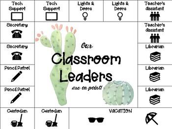 Cactus Classroom Jobs