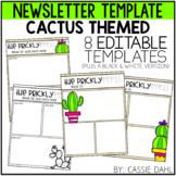 Cactus Classroom Newsletter
