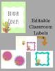 Cactus Classroom Theme Decor