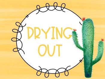 Cactus Clip Chart