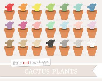 Cactus Clipart; Nature, Potted Plant, Desert