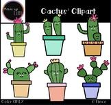 Cactus Clipart {Plant Clipart}