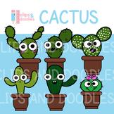 Cactus Clipart Set