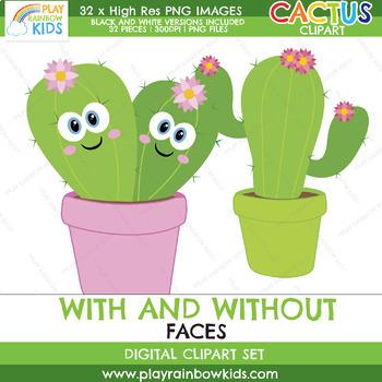Succulent Cactus Clipart