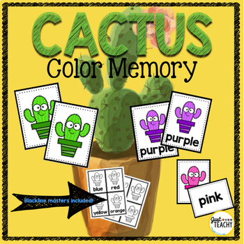Cactus Color Memory Game