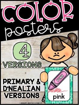Cactus Color Posters - Cactus Decor set #2