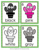 Cactus Colors Write the Room Activity