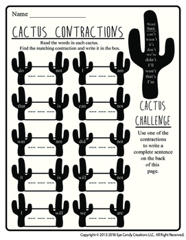 Cactus Contractions